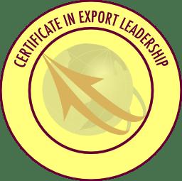 ExportLeader certificate seal